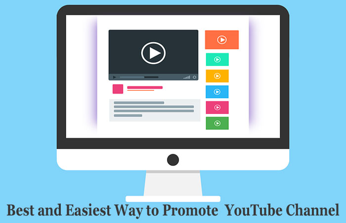 Best and Easiest Way to Promote YouTube Channel