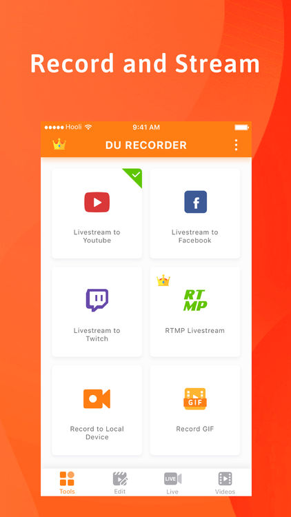 DU Recorder Screenshot App