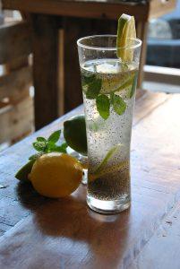 Chia water