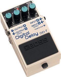 digital delay pedal
