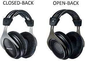 Type of earcups