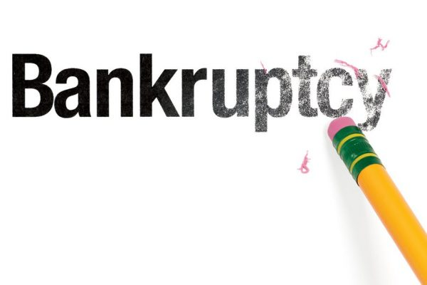 bankruptcy hurt my credit rating