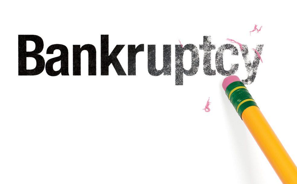 bankruptcy hurt my credit rating