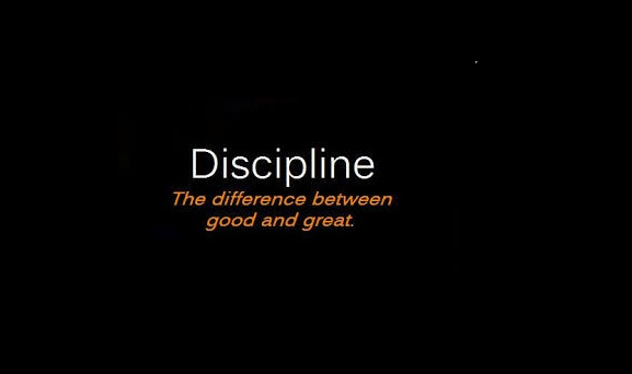 Order and discipline