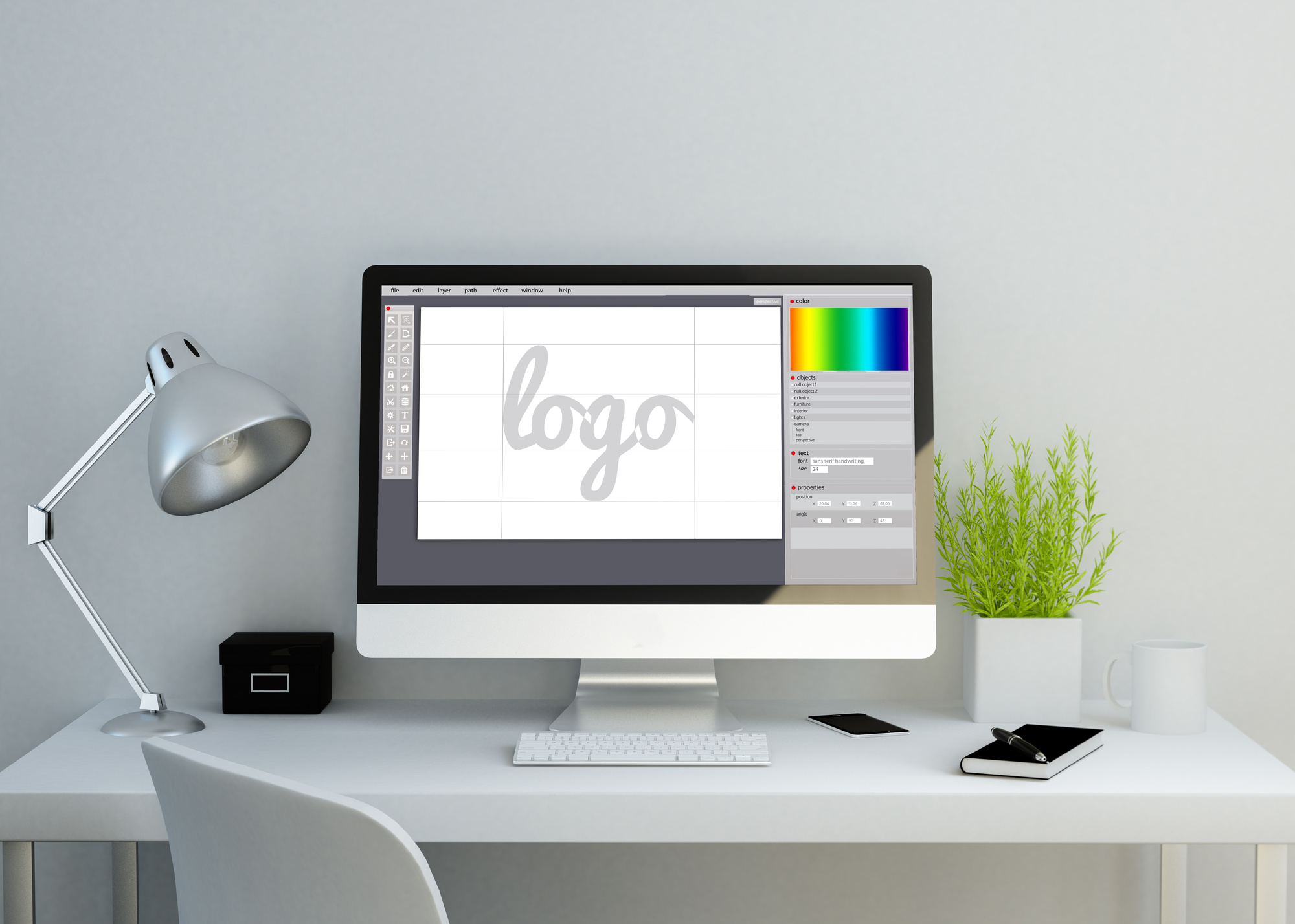 how to make a business logo