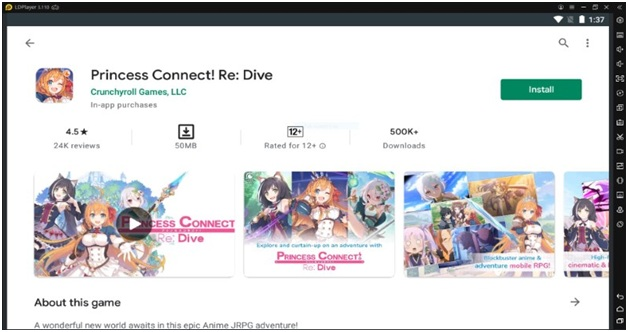 How To Download Princess Connect
